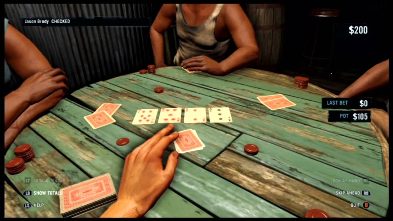Far cry 3 poker bully achievement poker stud hi lo