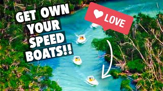 Jungle Tour Cancun Mexico Speed Boats (EPIC HD)