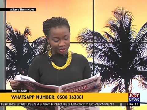 AM Show Newspaper Headlines on Joy News (12-6-17)
