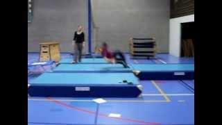 Bloopers salto springen