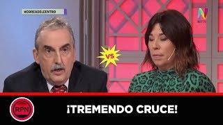 !!TREMENDO CRUCE entre Guillermo Moreno y Maria O&#39Donnell en vivo!!
