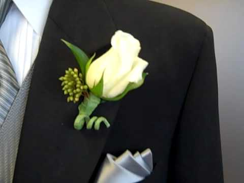 Proper Boutonniere Placement Youtube