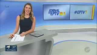 """""""EPTV1"""": Encerramento com a estreia de Nathália Assis - EPTV Campinas (13/04/2019)."""