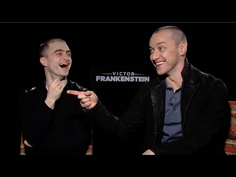 "'Victor Frankenstein': Watch Daniel Radcliffe and James McAvoy Play ""Would You Rather"""