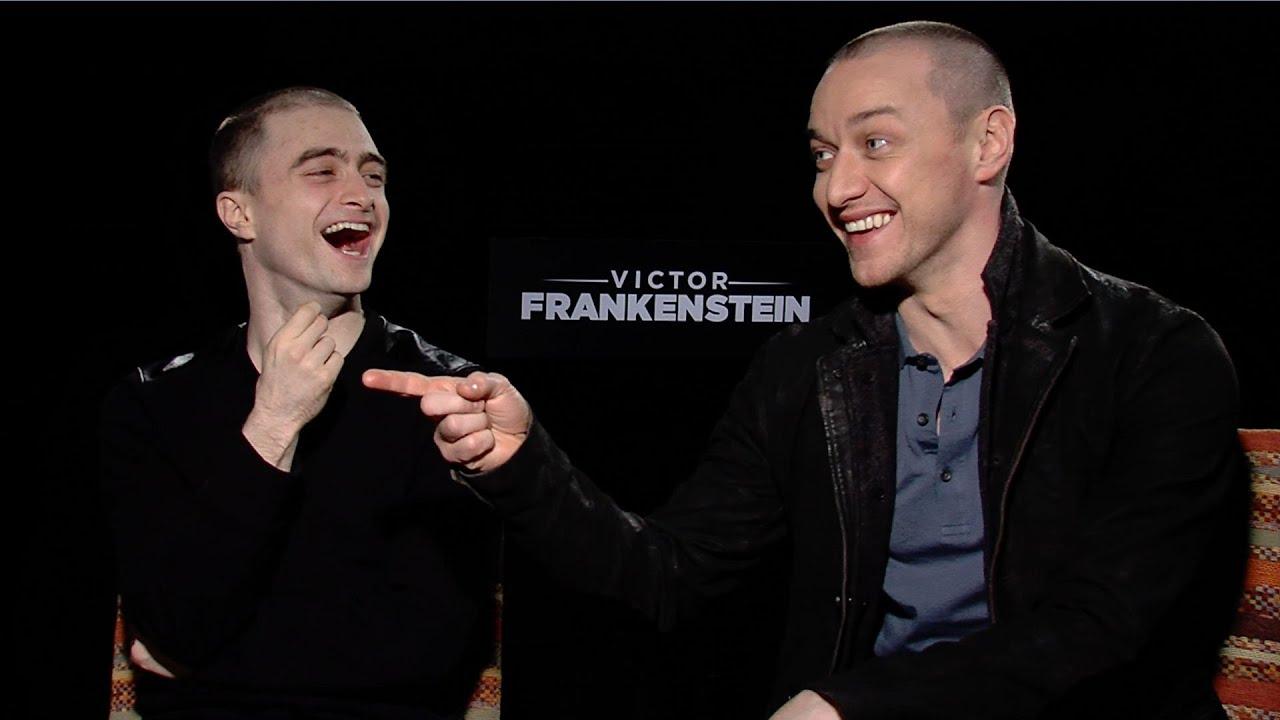 Victor Frankenstein': Watch Daniel Radcliffe and James McAvoy Play ...