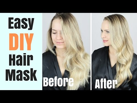 Easy DIY Hair Mask | My Hair care Routine