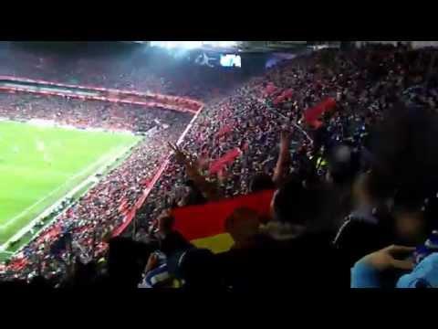 Afición del RCD Espanyol en San Mamés   At. Bilbao - RCDE   Semifinales Copa del Rey