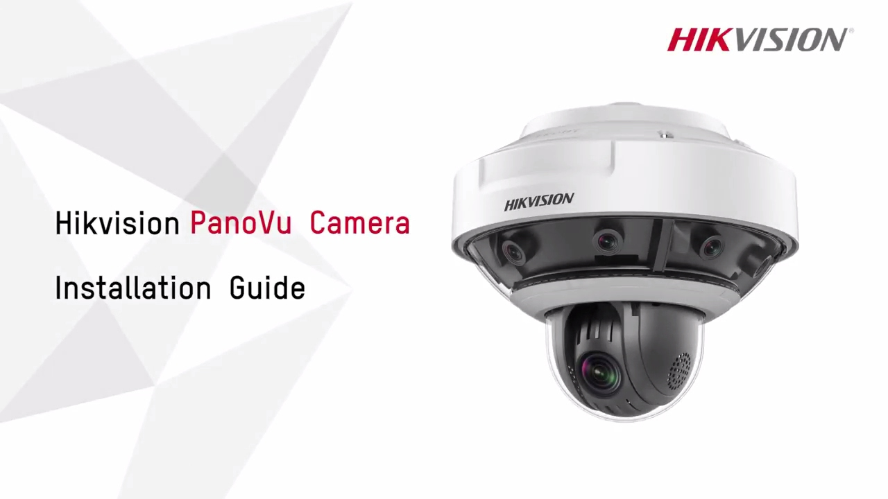 Hikvision PanoVu Camera Installation Guide