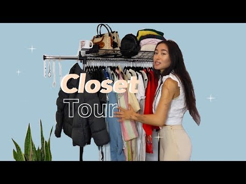 "All The Clothes I Own   "" Minimalist "" Closet Tour"
