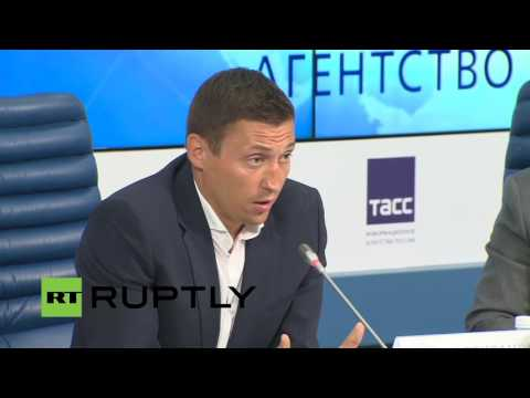 LIVE: Russian Sochi 2014 winners hold press conference on doping accusations
