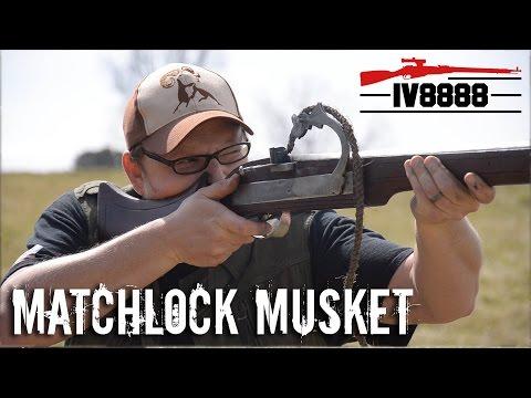 .72 Caliber Matchlock Musket
