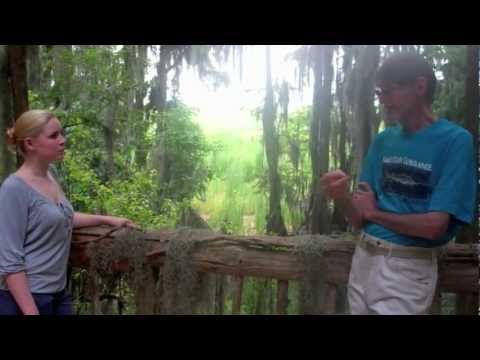 Chris and Sarah visit Dale Crider at the Anhinga Roost