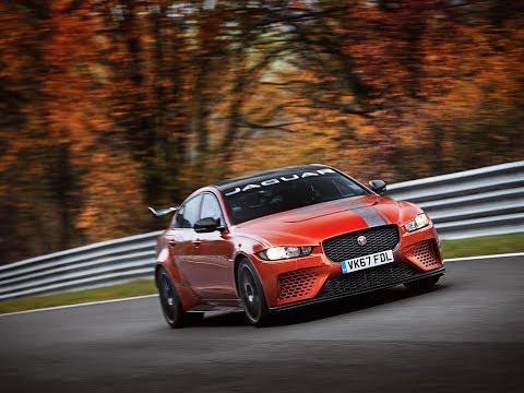 Jaguar XE SV Project 8 sets Nurburgring lap record