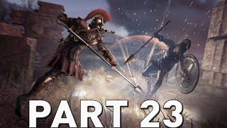 ASSASSIN'S CREED ODYSSEY Walkthrough Gameplay Part 23 - The Arena (AC Odyssey)