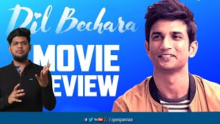 Dil Bechara Movie Review | Sushant Singh Rajput | AR Rahman | Open Pannaa