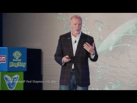 2017 swampUP Keynote | It's About Rewriting Your Company (Paul Chapman )