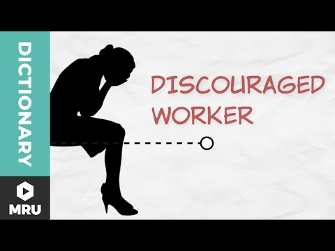 What Is A Discouraged Worker?