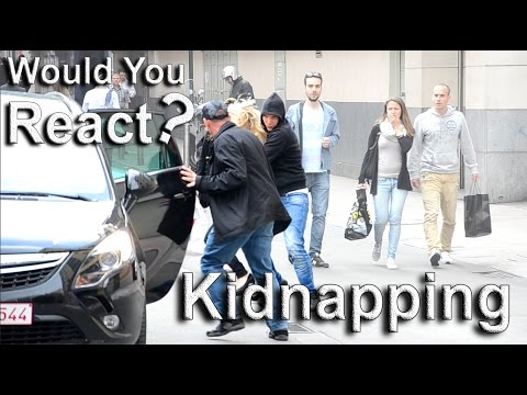 Social experiment #5: Kidnapping in broad daylight