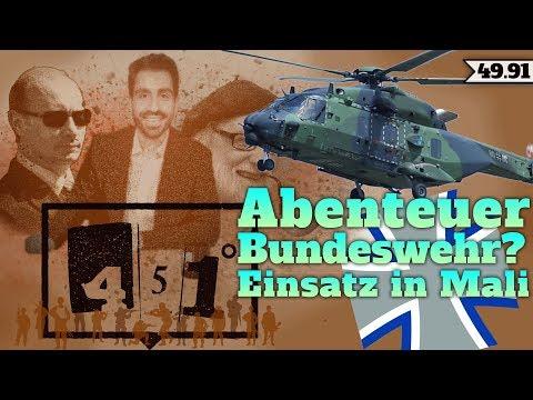 451 Grad | Fluchtursachenbekämpfung Mali | Bundeswehr in Afrika | 49.91