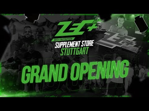 ZEC+ Supplement Store Stuttgart | GRAND OPENING