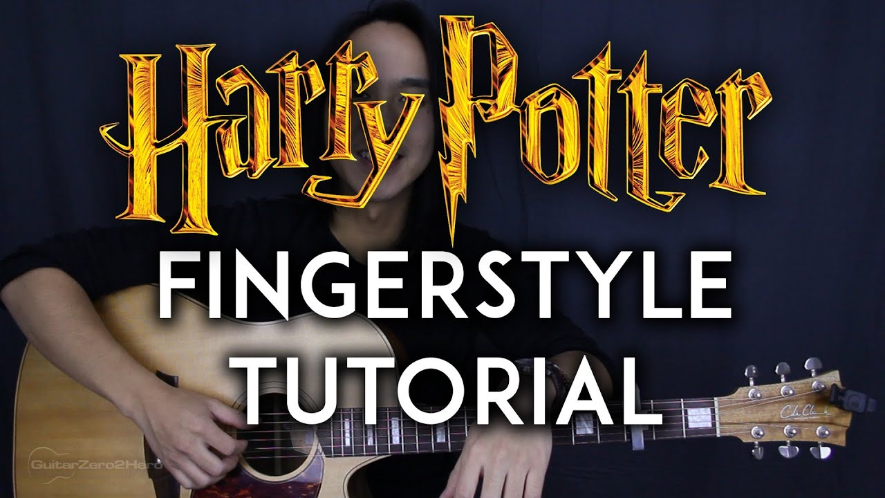 harry potter theme fingerstyle ed van der meer guitar