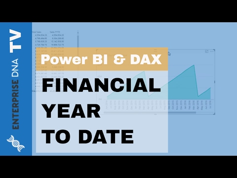 Calculating Sales Financial Year to Date in Power BI with DAX