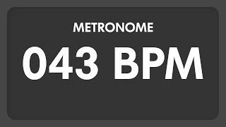 43 BPM - Metronome