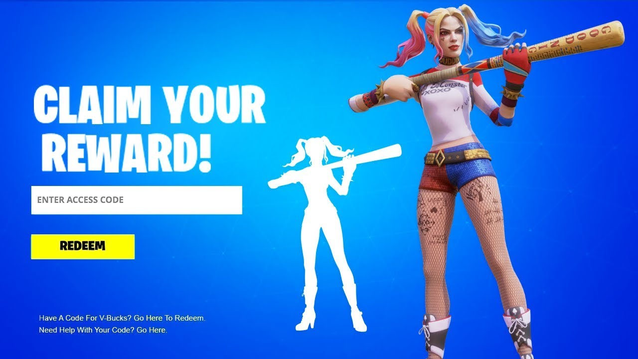 CLAIM YOUR HARLEY QUINN SKIN! (How To Get Fortnite x ...