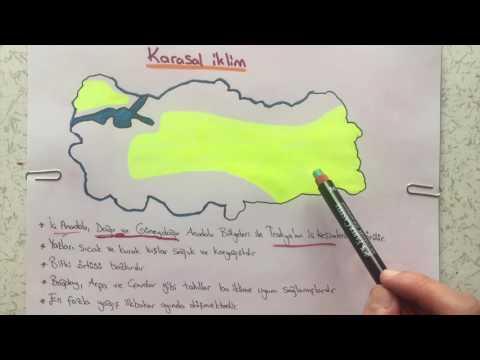 6. Sınıf Sosyal Bilgiler - Türkiye'nin İklimi