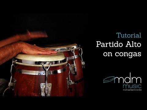 Partido Alto on congas, free lesson