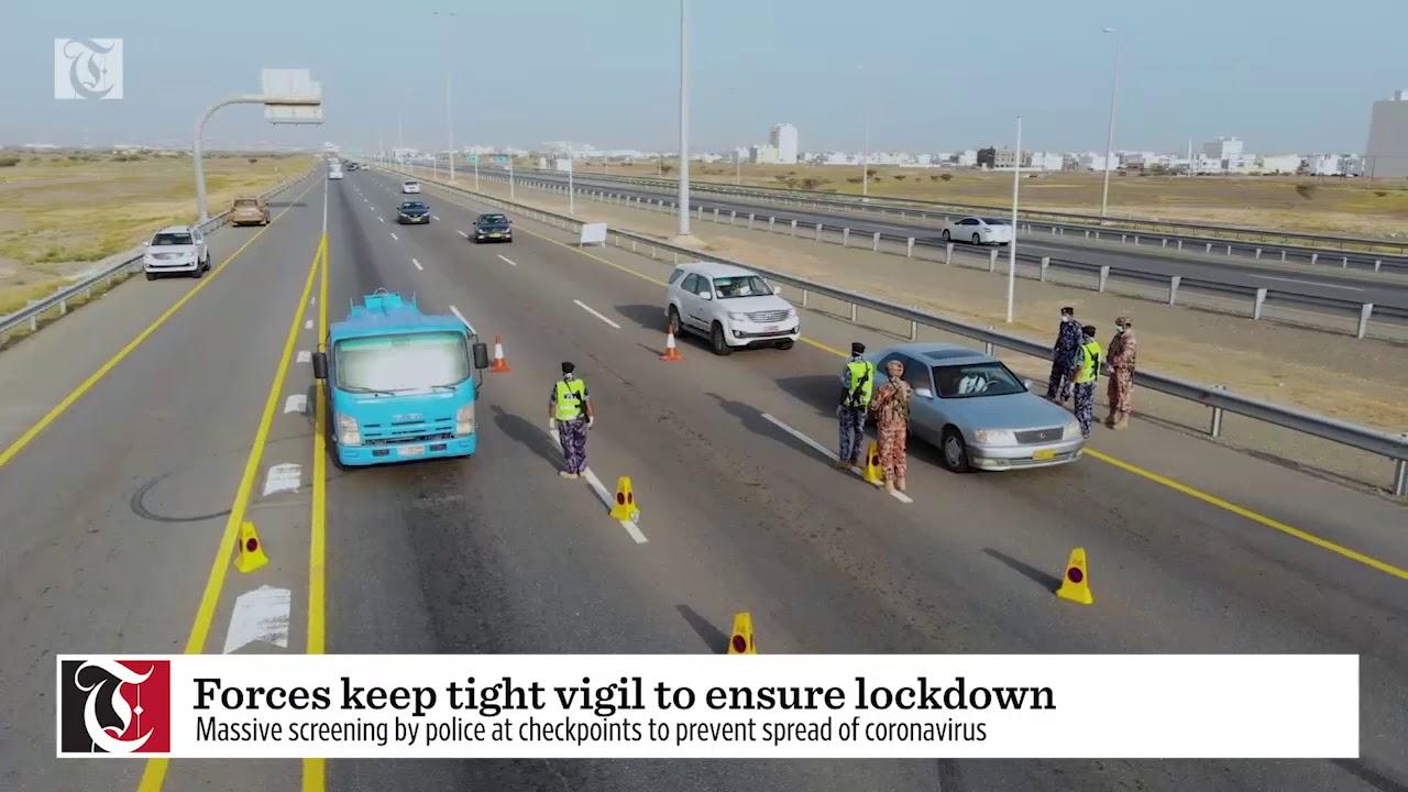 Forces keep tight vigil to ensure lockdown