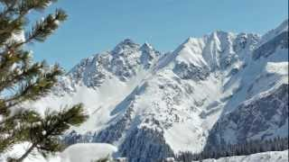 Video Postcard From the Snowy Alps - March 2013 - relaxdaily