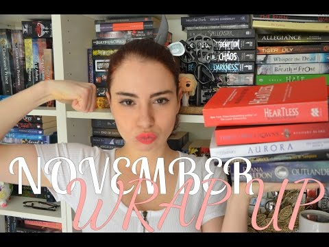 NOVEMBER WRAP UP AND DANCE DEMONS GIVEAWAY | BOOKSS101