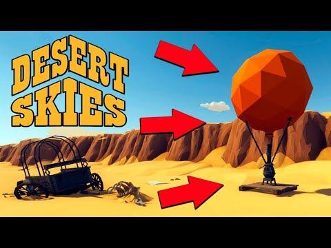 ВЫЖИВАНИЕ НА ВОЗДУШНОМ ШАРЕ! Опасные ПРИКЛЮЧЕНИЯ в НЕБЕСАХ ПУСТЫНИ - Desert Skies #1
