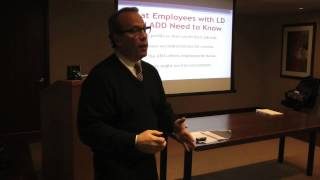 HR Panel on Learning Disabilities in the Workplace - Part 1