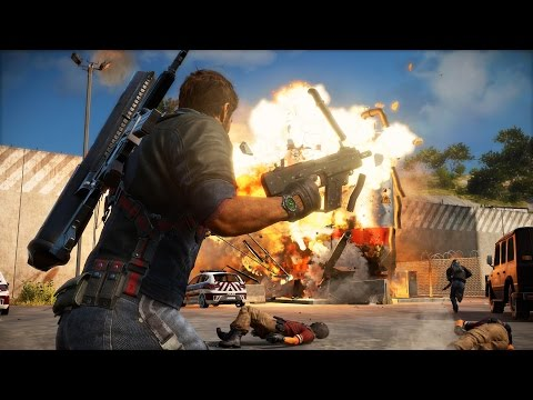 Watch the Explosive First 60 Minutes of Just Cause 3