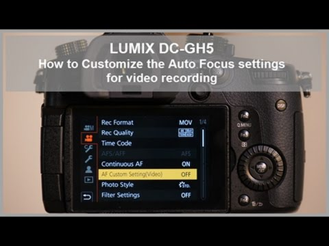 lumix dc gh5 dc gh5s how to customize the auto focus settings for rh youtube com Photography Manual Focus Webcam Manual Focus
