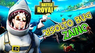 """FIXED"" BUG ZAINO FORTNITE!!! BACKPACKS!!! ""NEW"" SKIN SQUALO!!!"