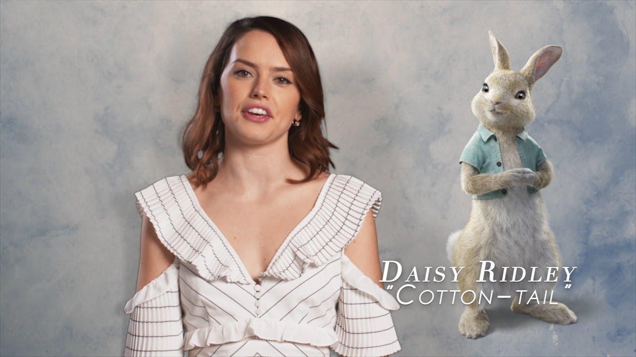 Resultado de imagem para peter rabbit movie dubbing cast