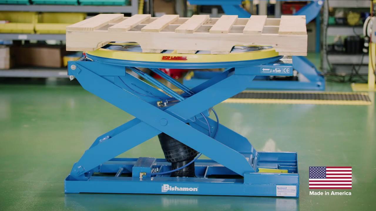 EZ Load EZ-30 Pneumatic Pallet Positioner and Level Loader