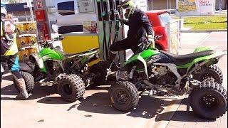 The best ATV for high speed riding - Cos wybuchlo w zielonym quadzie - W suzuki czy kawasaki !!!