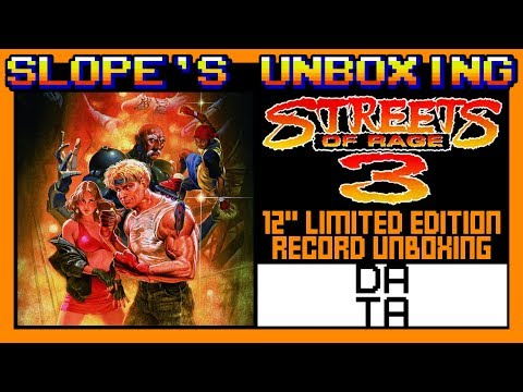 Streets Of Rage 3 Limited Edition DATA DISC 12
