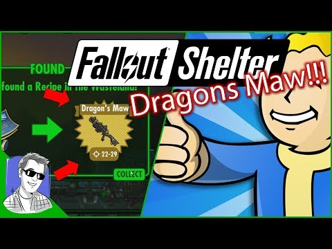 Fallout Shelter Vault 628 Dragons Maw EP61