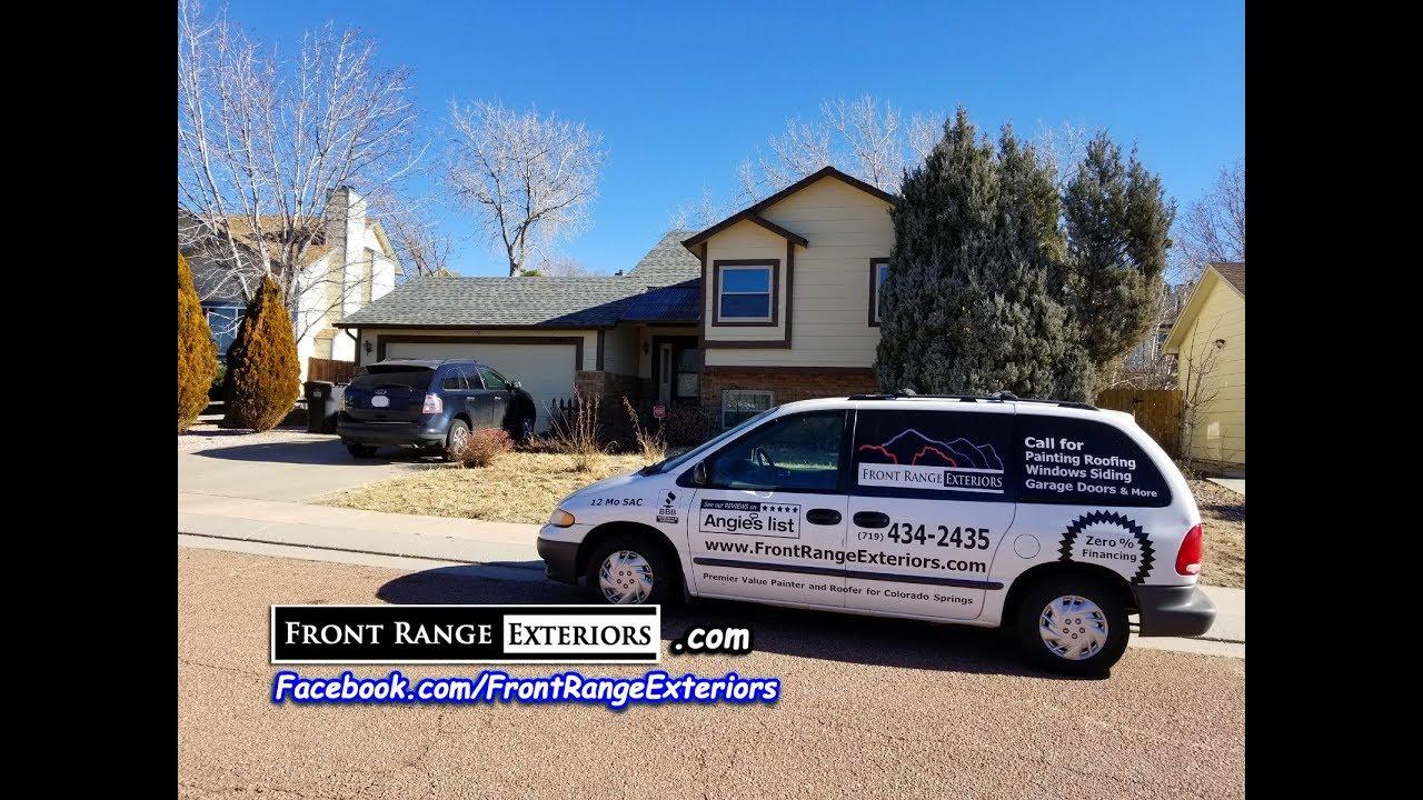 Roofing Contractor Colorado Springs Exterior Painter Gutters Garage Door Front Range Ext Youtube