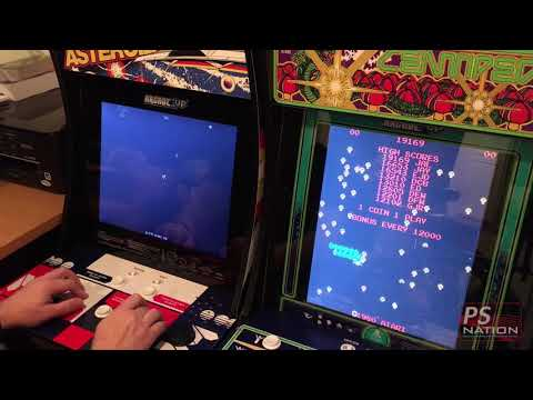Arcade1Up Asteroids Cabinet Closer Look