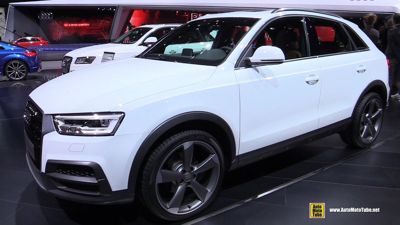 2015 audi q3 2 0 tdi quattro exterior and interior. Black Bedroom Furniture Sets. Home Design Ideas