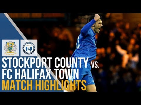 Stockport Halifax Goals And Highlights