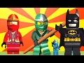 LEGO® Juniors Quest Vs LEGO® Juniors Create & Cruise | Lego Batman Mini Cartoon Story