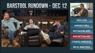 Barstool Rundown - December 12, 2017