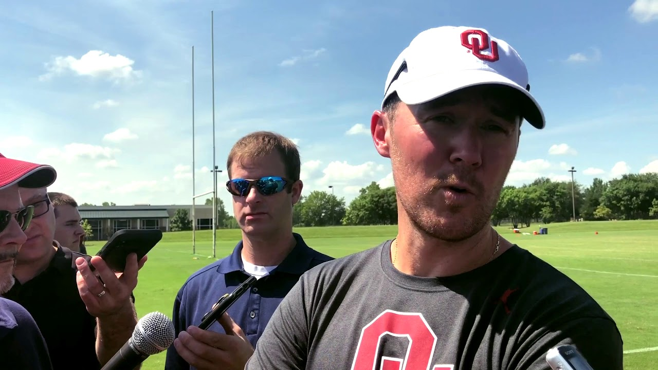 OU Update: Coach Riley talks with media after Friday ...